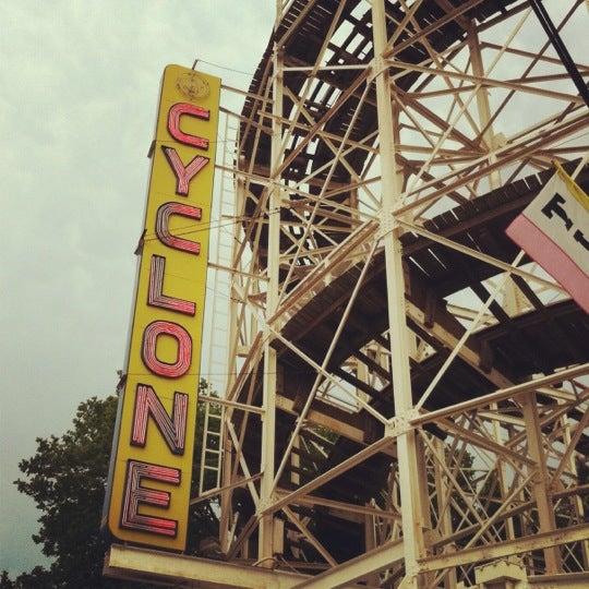Foto tomada en The Cyclone por Matt K. el 3/11/2012