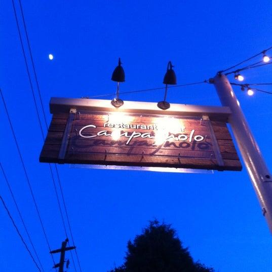 Das Foto wurde bei Campagnolo Restaurant + Bar von AtlSportsStud~H am 5/1/2012 aufgenommen