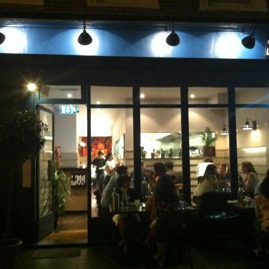 Das Foto wurde bei Lima London von Adeline T. am 9/7/2012 aufgenommen