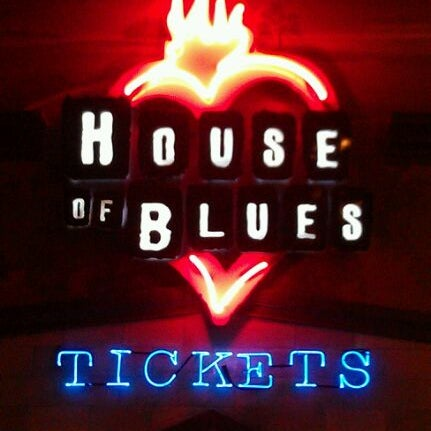 4/8/2012 tarihinde Michael Z.ziyaretçi tarafından House of Blues'de çekilen fotoğraf