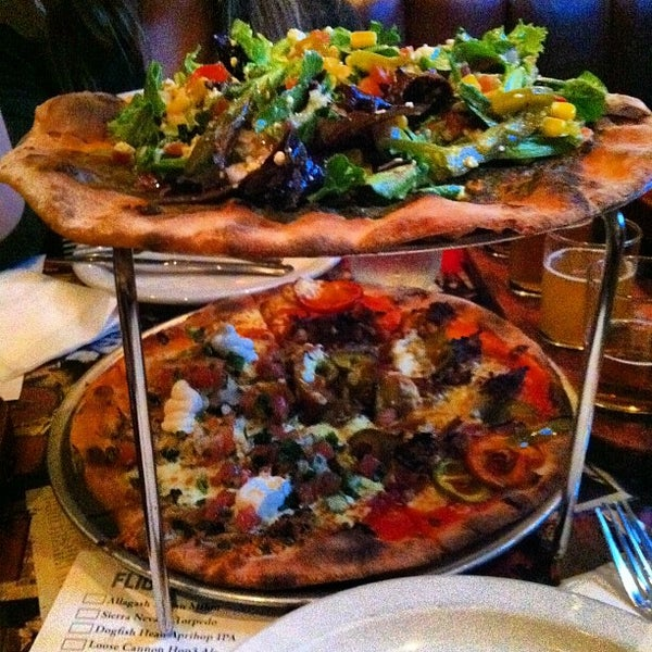 Photo taken at Coalhouse Pizza by Harry W. on 4/20/2012