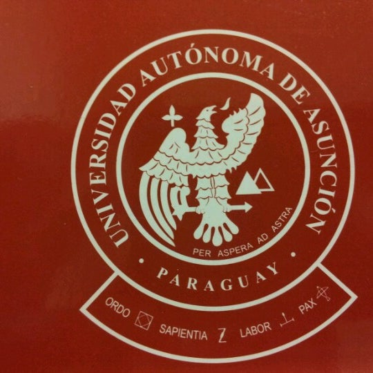 Снимок сделан в Universidad Autónoma de Asunción пользователем Rodri A. 8/31/2012