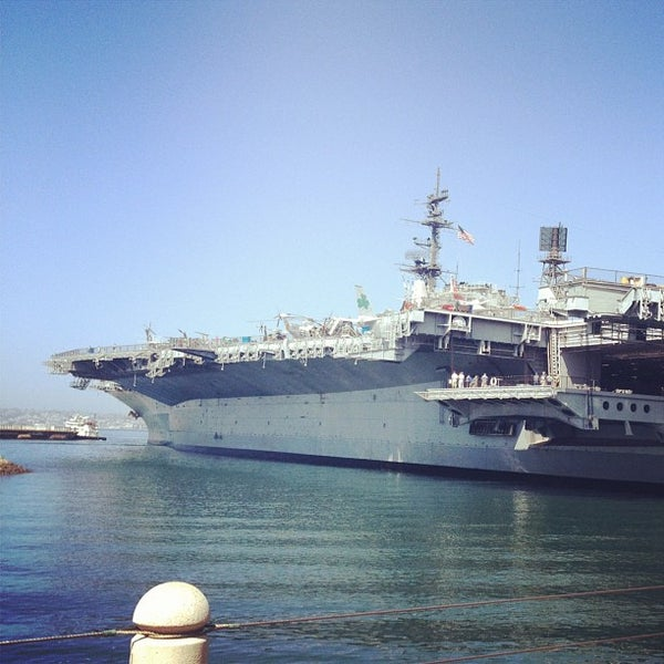 Photo taken at USS Midway Museum by Michael F. on 9/10/2012