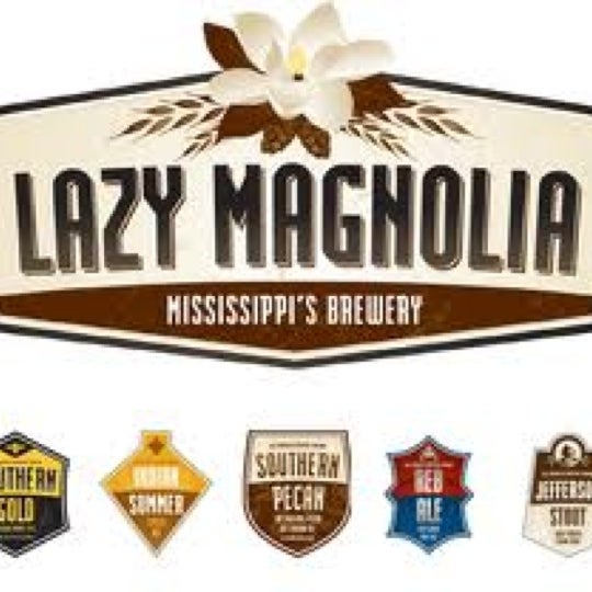 Lazy Magnolia, Mississippi's only craft brewery, is on tap at the restaurant.  Southern Pecan is the signature brew. Lighter ales are available as well.