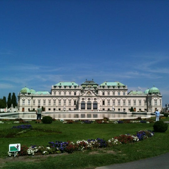 8/1/2012 tarihinde NANA☆ K.ziyaretçi tarafından Oberes Belvedere'de çekilen fotoğraf