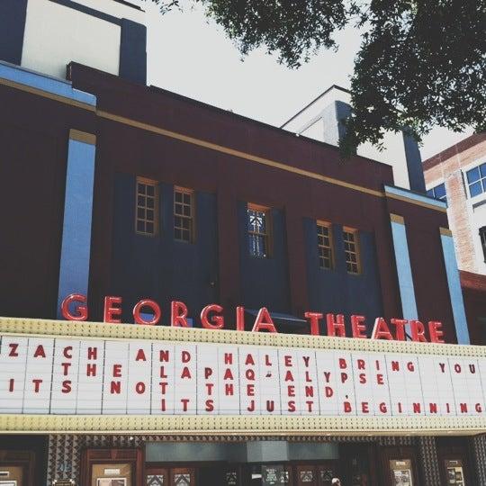 Das Foto wurde bei Georgia Theatre von Caroline F. am 6/2/2012 aufgenommen