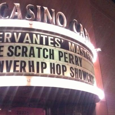 Das Foto wurde bei Cervantes' Masterpiece Ballroom & Cervantes' Other Side von Noel E. am 5/26/2012 aufgenommen