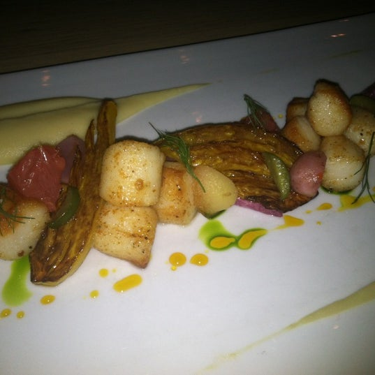 Try the Nantucket Bay Scallops!! A sweet taste of the ocean!
