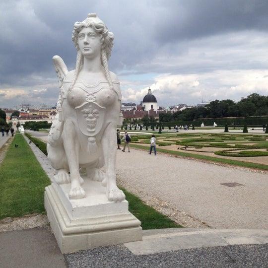 8/11/2012 tarihinde Katerina M.ziyaretçi tarafından Oberes Belvedere'de çekilen fotoğraf