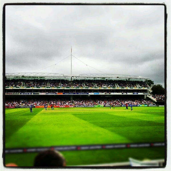 Foto tomada en Lord's Cricket Ground (MCC)  por Lucie B. el 9/2/2012