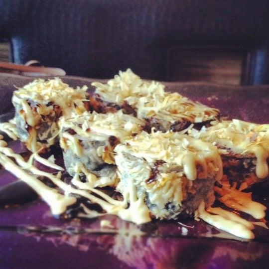 Try Hiroshima crispy sushi