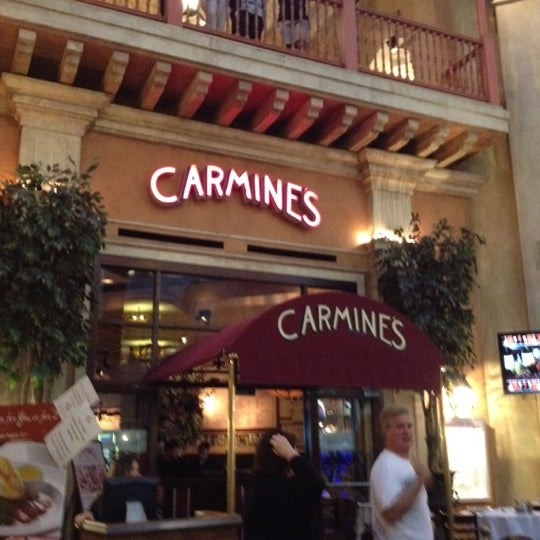 Photo Taken At Carmine S Italian Restaurant By Kat A On 8 16 2017