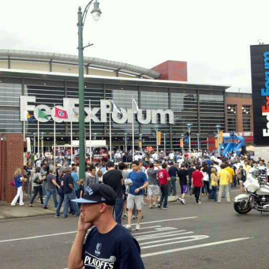 Foto diambil di FedExForum oleh Eric W. pada 5/13/2012