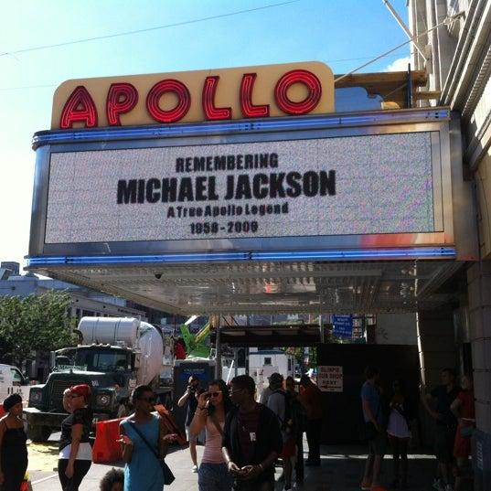 8/29/2012 tarihinde Karen S.ziyaretçi tarafından Apollo Theater'de çekilen fotoğraf
