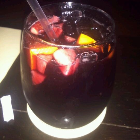 Happy hour special $3 sangria til 7pm