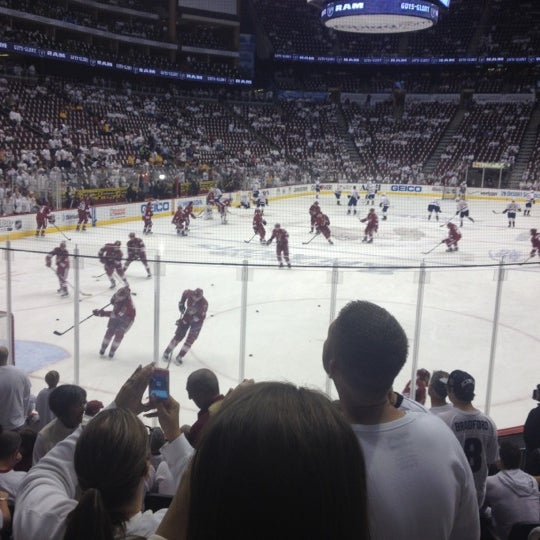 Photo prise au Gila River Arena par Mark F. le4/30/2012