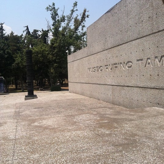 3/30/2011 tarihinde Gustavo R.ziyaretçi tarafından Museo Tamayo'de çekilen fotoğraf