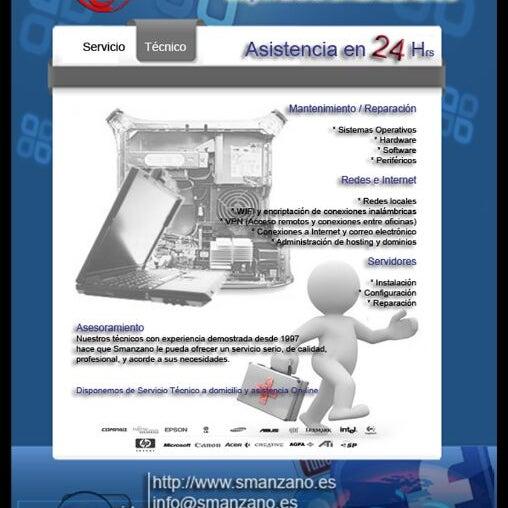 Foto tomada en Smanzano.es - Soluciones Informáticas y Desarrollo y Diseño Web por Sergio M. el 11/10/2011