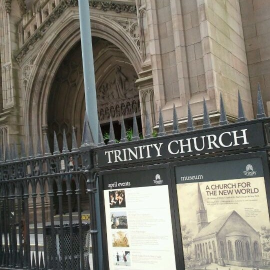 Photo prise au Trinity Church par Tootie A. le4/9/2012