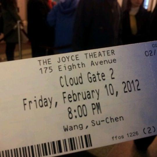 Photo prise au The Joyce Theater par Karena L. le2/11/2012