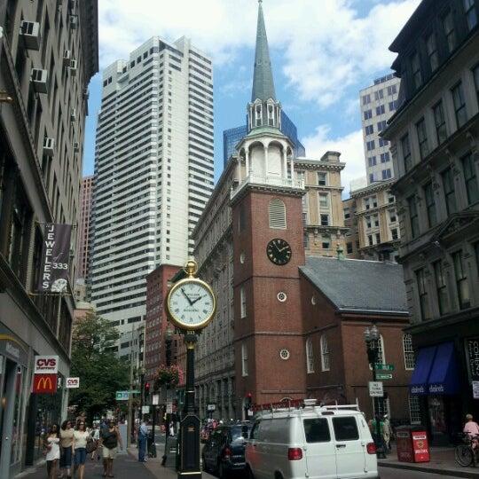 9/2/2012 tarihinde Nicole E.ziyaretçi tarafından Old South Meeting House'de çekilen fotoğraf