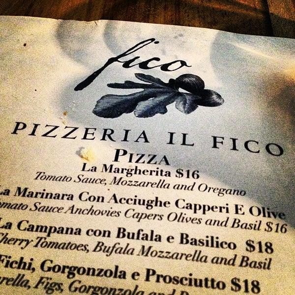 Foto scattata a Pizzeria Il Fico da Alex d. il 7/25/2012