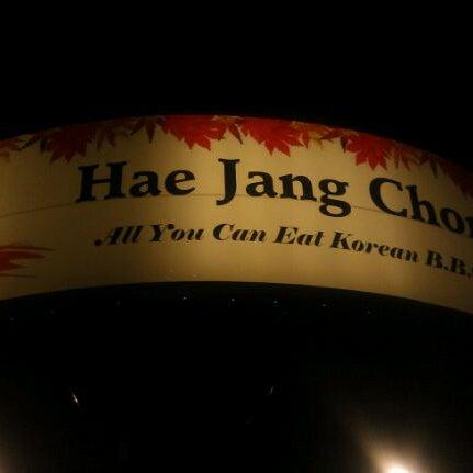 Foto scattata a Hae Jang Chon Korean BBQ Restaurant da Shok il 9/20/2011