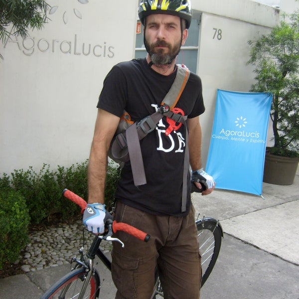 ... si llegas en bici tu postre es gratis