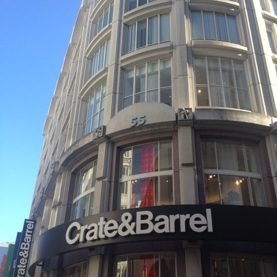 Crate And Barrel Union Square Downtown San Francisco 18 Tips
