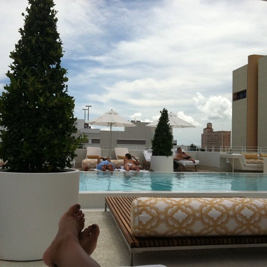 9/3/2011にCourtney L.がDream South Beach Hotelで撮った写真
