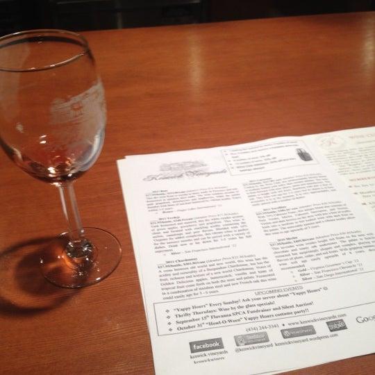 8/11/2012 tarihinde Katie S.ziyaretçi tarafından Keswick Vineyards'de çekilen fotoğraf