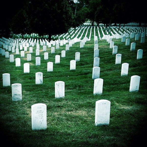 Photo prise au Arlington National Cemetery par Chris E. le7/13/2012