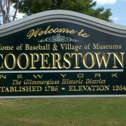 7/9/2012 tarihinde Robbie K.ziyaretçi tarafından National Baseball Hall of Fame and Museum'de çekilen fotoğraf