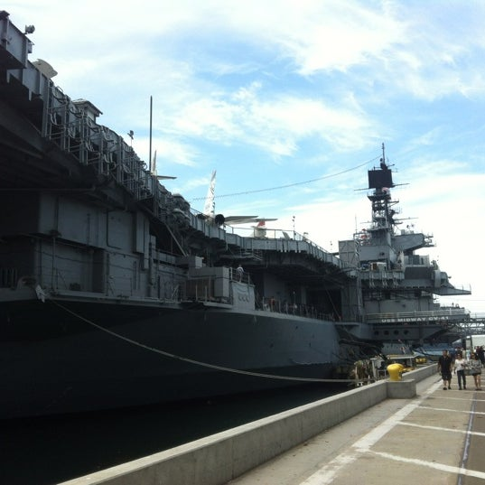 Photo taken at USS Midway Museum by Carlos C. on 7/18/2012