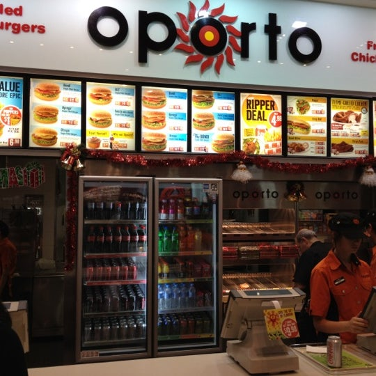 Oporto Fast Food Restaurant In Hornsby