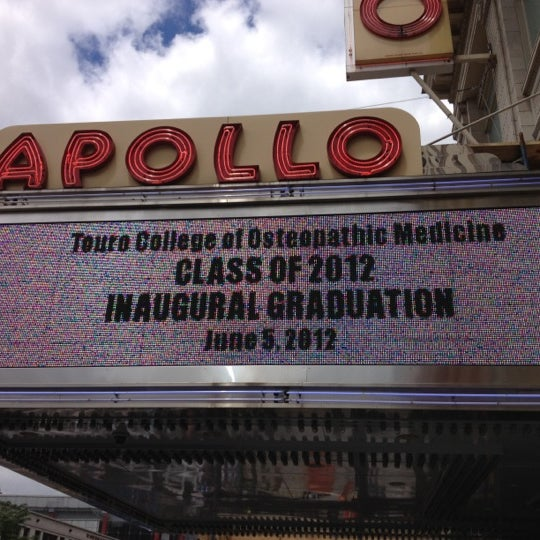 6/5/2012 tarihinde Chris G.ziyaretçi tarafından Apollo Theater'de çekilen fotoğraf