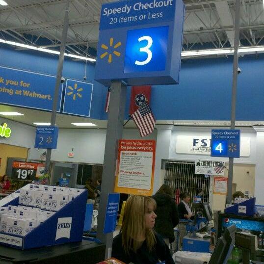 Photo Taken At Walmart Supercenter By Ka H On 1 11 2012