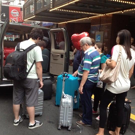 8/14/2012에 Marilena C.님이 Novotel New York Times Square에서 찍은 사진