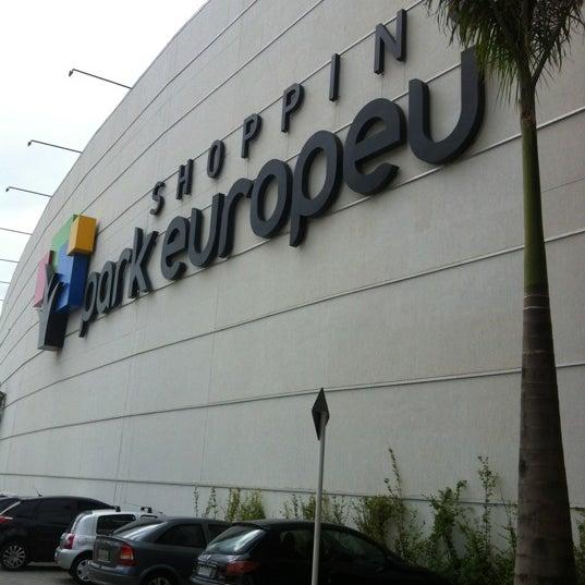 รูปภาพถ่ายที่ Shopping Park Europeu โดย Alexandre S. เมื่อ 3/31/2012