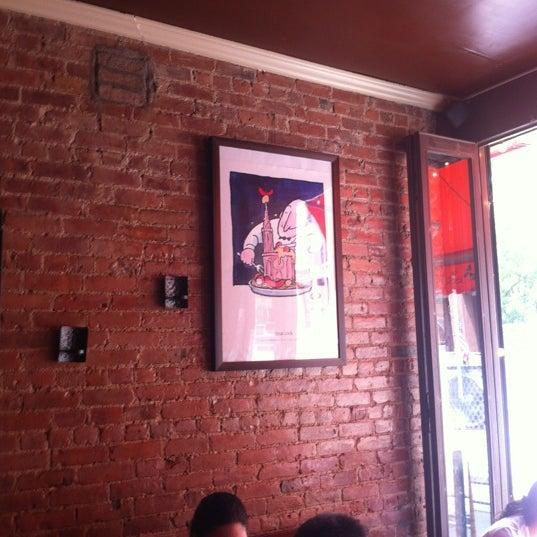 Das Foto wurde bei La Tarte Flambee von Craig S. am 6/9/2012 aufgenommen