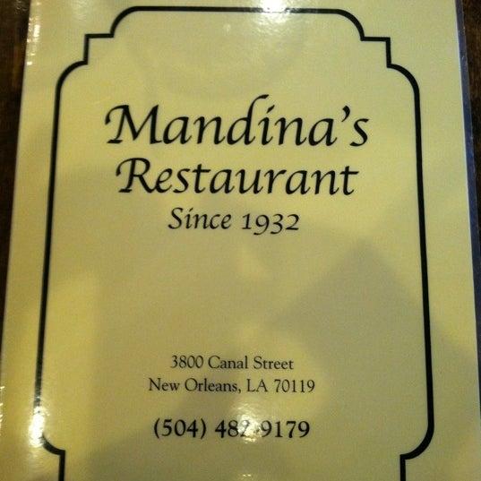 Photo taken at Mandina's Restaurant by Sean C. on 5/6/2011
