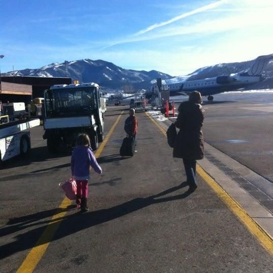 Photo prise au Aspen/Pitkin County Airport (ASE) par Geoff G. le1/10/2012