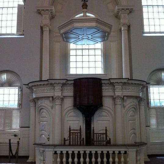 5/16/2011 tarihinde Jan W.ziyaretçi tarafından Old South Meeting House'de çekilen fotoğraf