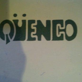 Foto tomada en El Qüenco por Gastrobility el 12/8/2011