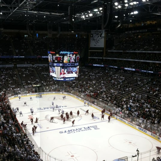 Photo prise au Gila River Arena par Bob R. le4/15/2012