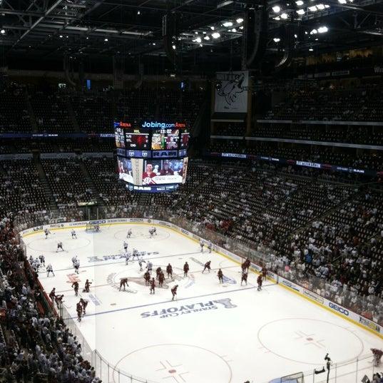 4/15/2012 tarihinde Bob R.ziyaretçi tarafından Gila River Arena'de çekilen fotoğraf