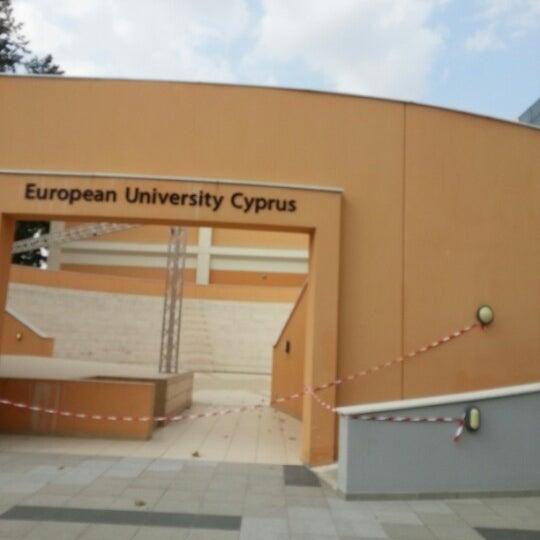Foto tomada en European University Cyprus por Michael C.G. C. el 7/21/2012