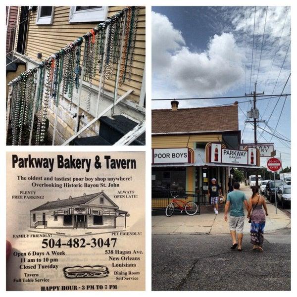 7/28/2012にLuke H.がParkway Bakery & Tavernで撮った写真