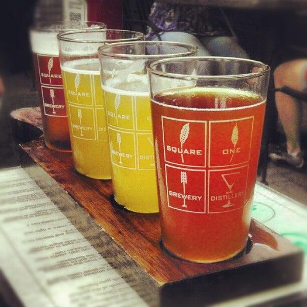 Das Foto wurde bei Square One Brewery & Distillery von Ryan B. am 8/25/2012 aufgenommen