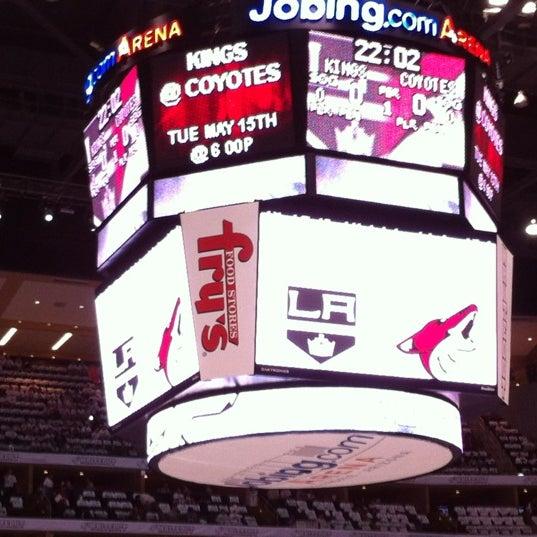 Снимок сделан в Gila River Arena пользователем Sandra S. 5/13/2012